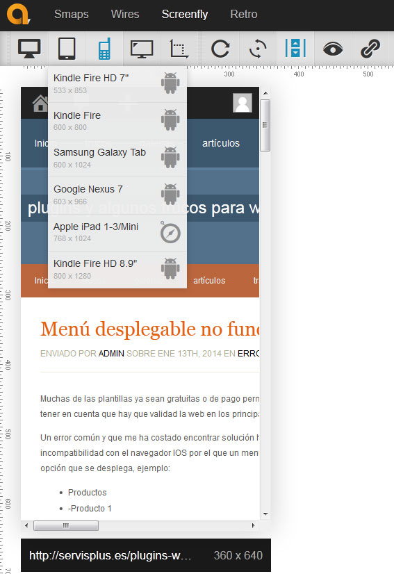 screenfly-visualizar una web en diferentes resoluciones