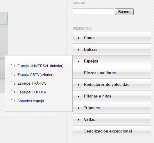 JQuery Vertical Mega Menú | Mis Plugins para WordPress