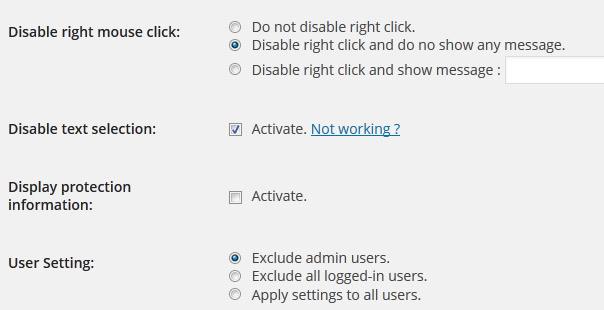 Plugin para proteger el contenido de WordPress