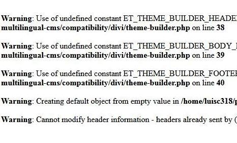 Error al entrar en admin de WordPress theme-builder.php on line 38